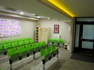 Waiting room Dr. Koch
